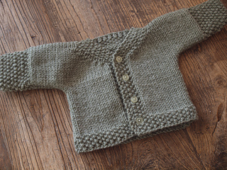 33b98955d04f Ravelry  Easy Baby Cardigan pattern by Joelle Hoverson