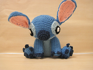 Ravelry: Amigurumi Stitch! from Lilo and Stitch pattern by
