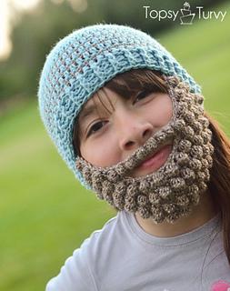 Ravelry  bobble bearded beanie pattern by Ashlee Prisbrey 692a7bd9af63