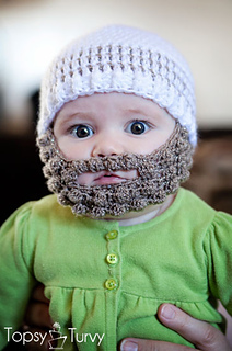 8c520849a81 Ravelry  bobble bearded beanie pattern by Ashlee Prisbrey