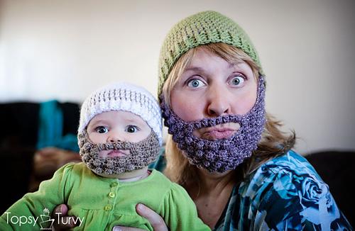 fa7e7ba1b28 Ravelry  bobble bearded beanie pattern by Ashlee Prisbrey