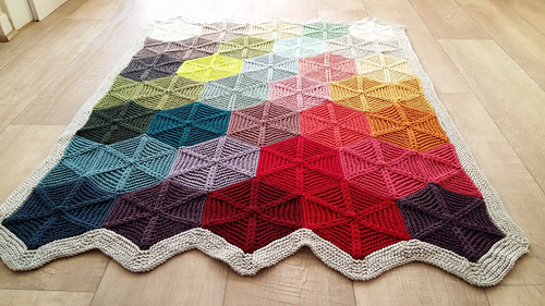 Polygon pattern by tincanknits