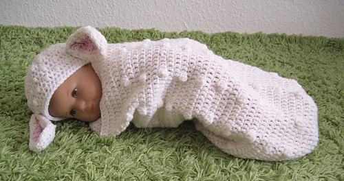 Ravelry: Baby Cocoon and Hat \
