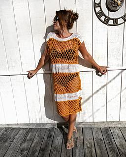 6c095659c4 Ravelry: Sanibel Pool & Beach Dress pattern by Michele Costa