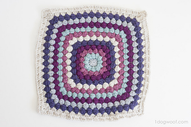 Ravelry Bobble Stitch Afghan Square Pattern By Chiwei Ranck