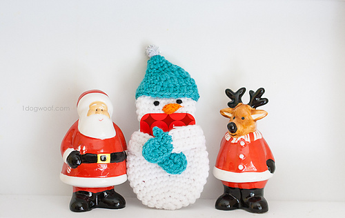 Ravelry Snowman Gift Card Holder Pattern By Chiwei Ranck
