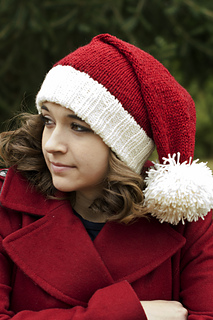 d493fac7ba7 Ravelry  Santa Hat pattern by Adina Logsdon