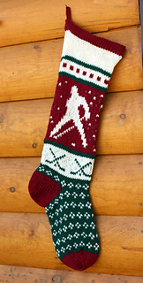 Ravelry: 0 Christmas Stocking Hockey pattern by Cindy ...