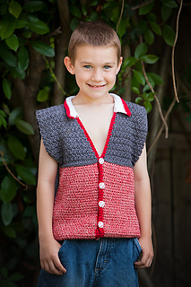 Cotton_textured_vest_red_1_small2