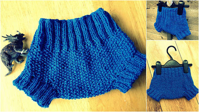 Ravelry: Baby Diaper Cover pattern by 3 Rabbits Patterns