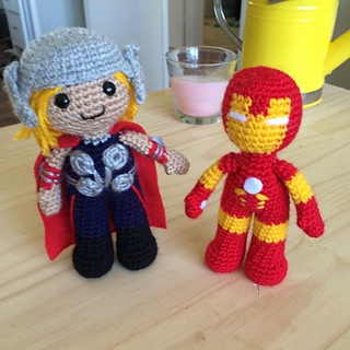 Iron Man Amigurumi Crochet Pattern