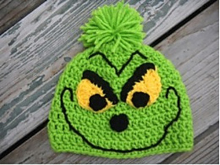 Ravelry  Christmas Grinch Hat pattern by Cadi Schmidt c3dd724c530