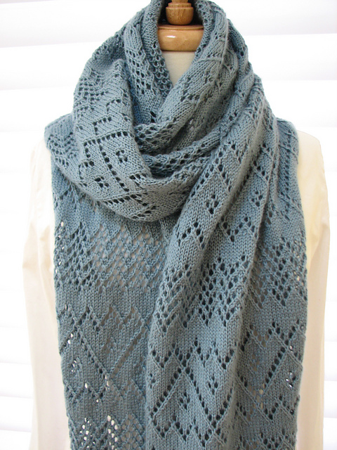 Ravelry Lace Scarf Pattern By Sarah Hatton