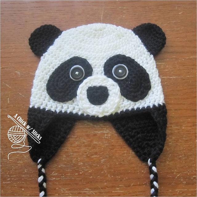 Ravelry Panda Hat Pattern By Chelsea Moore