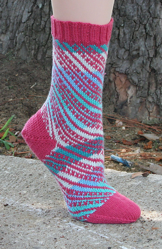 No_parking_single_pink_sock_medium