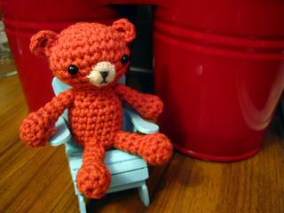 Tiny Amigurumi Bear Pattern : Ravelry: Tiny Amigurumi Bear pattern by Tatyana Krivosheev