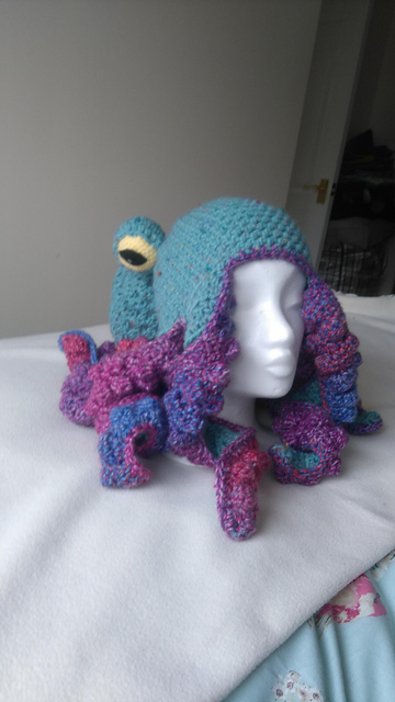 Ravelry Octopus Hat Pattern By Abnormal Crocheter Stunning Crochet Octopus Hat Pattern