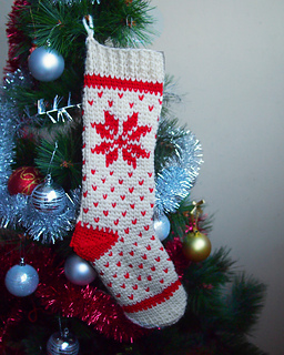 nordic fair isle christmas stocking by ana d ana d ana d
