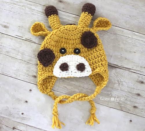 Ravelry Giraffe Hat Pattern By Sarah Zimmerman