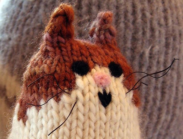 Ravelry Brownie The Cat Pattern By Barbara Kobayashi