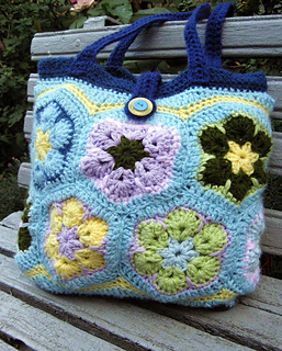 Ravelry: African Flower Purse pattern by