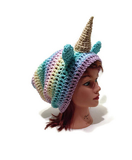 997af8262f8 Pastel Rainbow Unicorn Hat. Viewing as a guest user. What am I missing  ©  Megan Sweet   AddSomeStitches