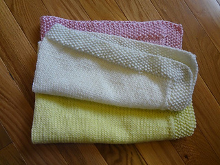 Ravelry Seed Stitch Border Baby Blanket Pattern By Teresa