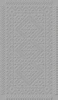 Summer Symphony Stole pattern by Aigul' Al'zhanova