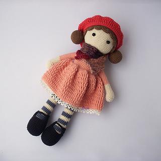 What Size Needle For Amigurumi : Ravelry: Aria Crochet Doll pattern by Desislava Dimitrova