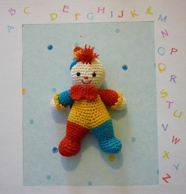 Ravelry Amigurumi Little Clown Pattern By Akinna Stisu