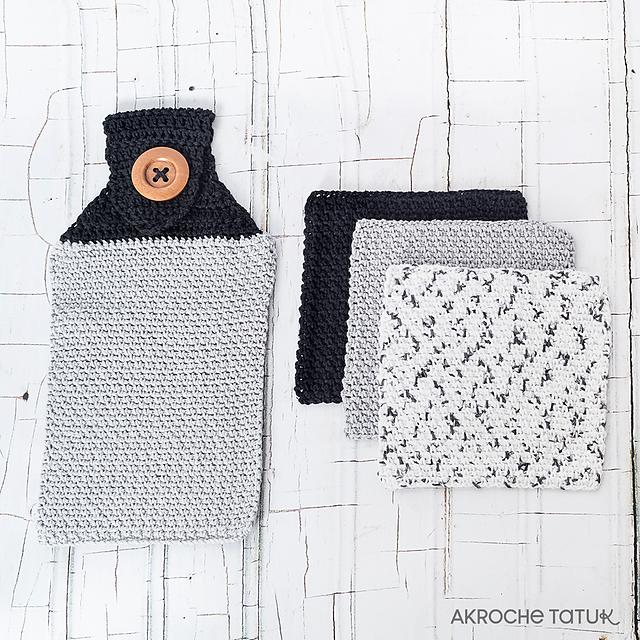 Ravelry: Dishcloth and handtowel pattern by Akroche Tatuk