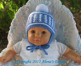 Ravelry  Knit Pom-Pom Ear Flap Hat pattern by Alena Byers 2399f28317a