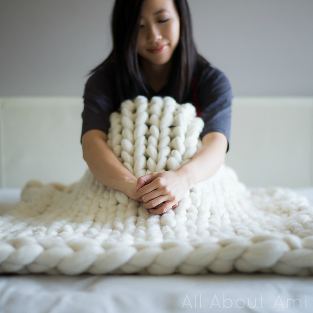 Ravelry Extreme Knitted Blanket Pattern By Stephanie Jessica Lau
