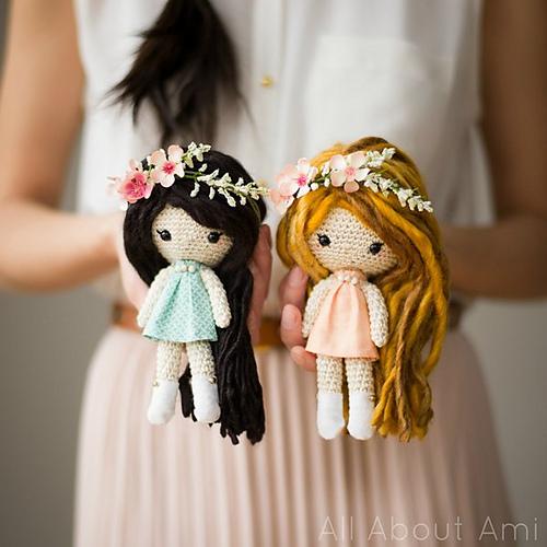 poupée crochetée Primrose Dolls par Stephanie Jessica Lau