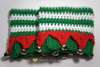 Elf Boot Cuffs Pattern By Raelynn Orff Ravelry