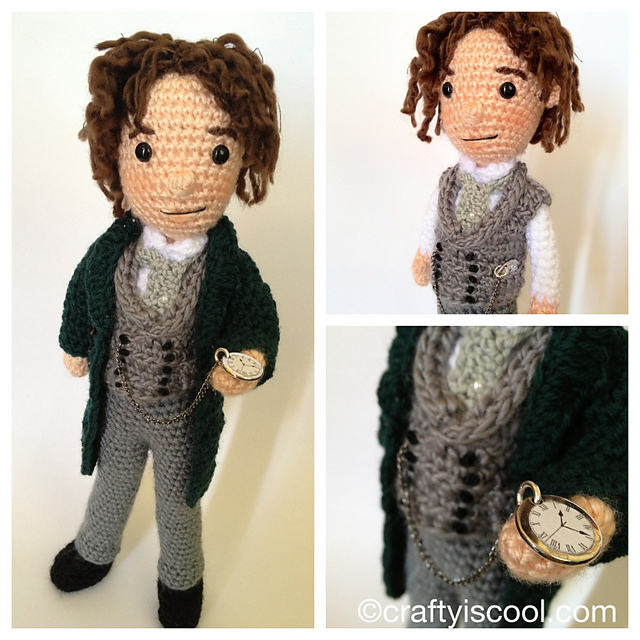 Ravelry: Eighth Doctor Who pattern by Allison Hoffman