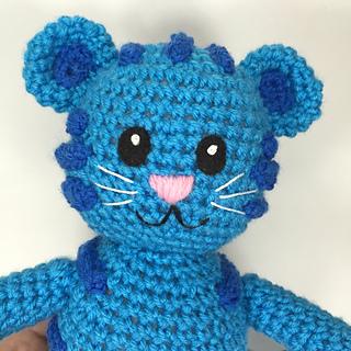 Ravelry  Blue Tiger like Daniel Tiger s Neighborhood Tigey pattern ... 26f2e529497