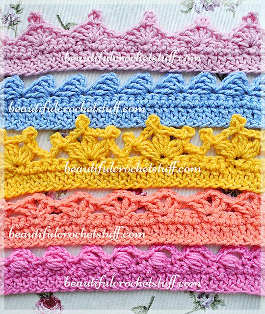 Ravelry Borders Pattern By Jane Green