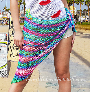 Ravelry Crochet Beach Cover Up Shawl Pattern By Jane Green