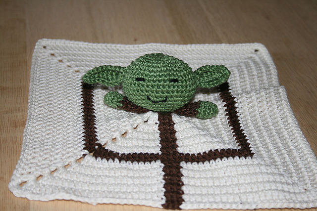 Ravelry Little Yoda Baby Blanket Pattern By Alu Ka