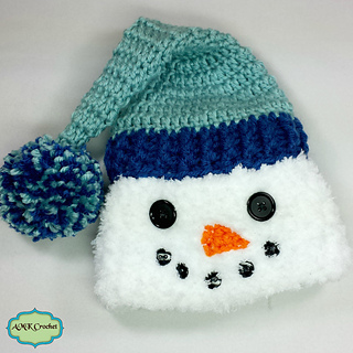 Ravelry Newborn Snowman Hat Scarf And Cocoon Pattern By