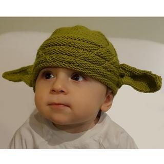 Ravelry  Yoda Hat pattern by Amanda Kaffka 095e1942225