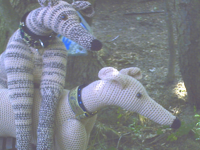 Ravelry Life Sized Greyhound Pattern By Lenora Conlon
