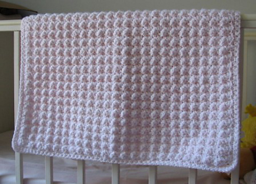 Ravelry: Bubble Textured Baby Afghan pattern by Kristine Mullen