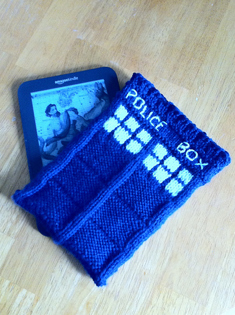 Ravelry Tardis Kindle Case Dr Who Pattern By Americanwitch