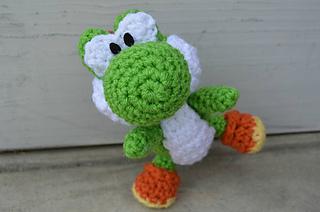 Amigurumi Teddy Bear Crochet Pattern : Ravelry: Yarn Yoshi pattern by Ami Amour