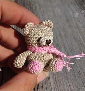 Ravelry Mini Friend Bear Pattern By Yvonne Blanker