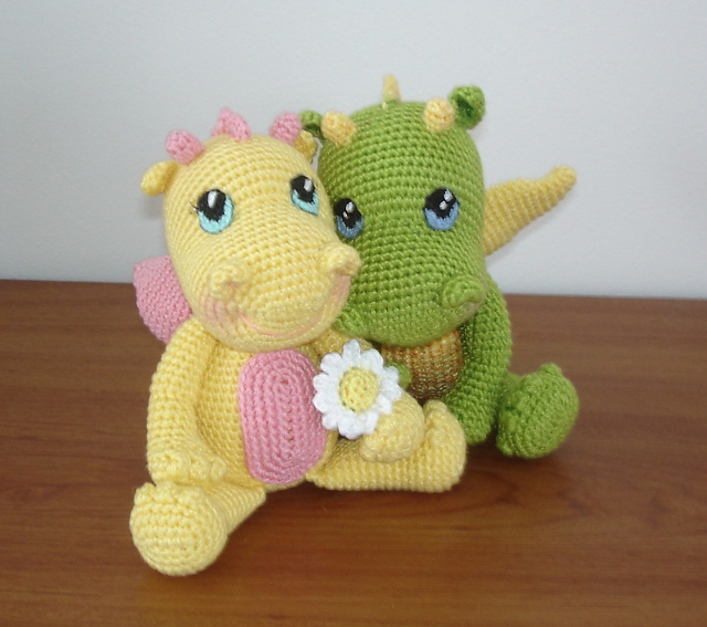 Ravelry Bb Dragon Pattern By Vanja Grundmann