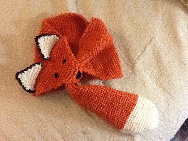 Ravelry Fox Scarf Pattern By Satu Dolk And Ossi Laine