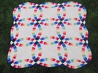 Wedding Ring Quilt Pattern.Ravelry Double Wedding Ring Quilt Pattern By Sharon O Brien